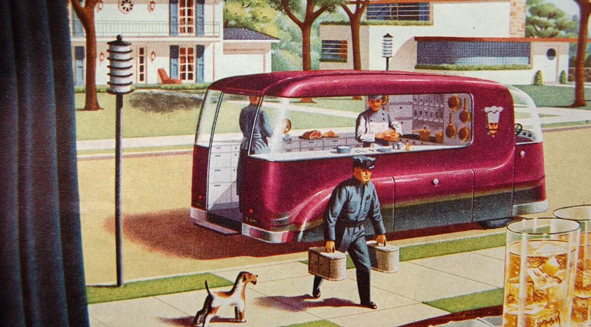 1940's Food Truck of the Future