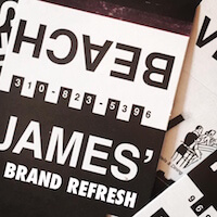 James' Beach<br>Brand Refresh